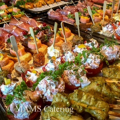 Luxe hapjes MAMS Catering Enschede